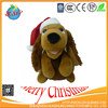 OEM FACTORY Good quality plush promotional festival Christmas toy