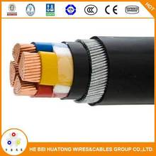 Cable manufacture 0.6/1KV armoured 4 core xlpe cable 150mm2 with CE certificate