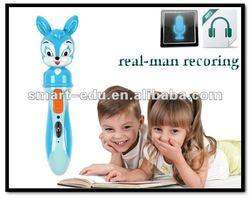 Cute reader pen with audio books se010 children sound book & reading pen