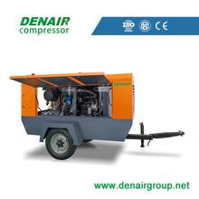 diesel portable air compressor screw type 300 bar for sale