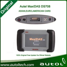 100% Original Autel DS708 Automotive Diagnostic and Analysis System Live data ECU programming ALL electronic systems+Gift X431