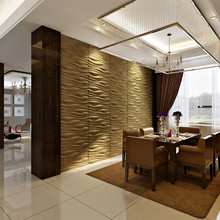 bamboo material 3d board for interior decoration