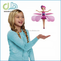 Flying Fairy Dolls for Girls Learning & Education Infrared Induction Control Flying Angel Baby Toys