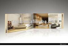 2012 professional new furniture catalog printing
