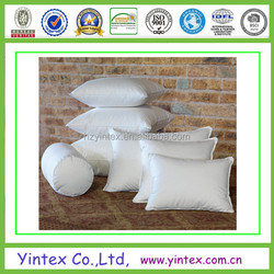 Home Decorative hotel feather Pillow or down pillow