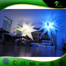 Hot Selling Color Changing LED Lighting Inflatable Stars Inflatable Party Decoration