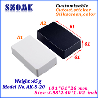 Plastic ABS small electrical junction cases