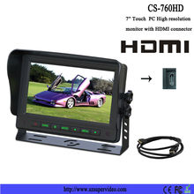 7 inch car lcd monitor with hdmi input