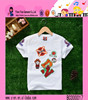 Summer Fashion Printing Soft And Thin Cotton T-shirts Boys For 2~6 Years Old