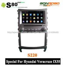 pantalla capacitiva dvd gps especial para hyundai veracruz ix55 3g radio bluetooth + adaptador wifi