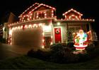 100 metros plano 4 fios LED cor mudar luz corda para o natal ao ar livre decoração da