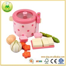 Happy Cook Play Set DIY Wooden Kitchen Toy MZ-FF-01