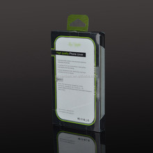 custom suitable top quality plastic power bank printing boxes for electronic device packaging