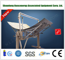 High quality solar water heater/ZX24-8-A parabolic trough solar collector