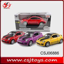 Newest Volkswagen Beetle metal car model die-car alloy car CSJ06882