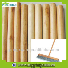 varnish wooden broom handle with cheap price made in china