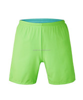 With Lining Green Polyester Fabric Can Wear Inside Out Breathable Fashion Running Basketball Shorts Men Sports Shorts