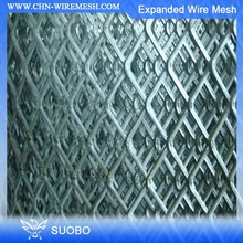 SUOBO Alibaba China Expanded Steel Galvanised Mesh Expanded Metal Mesh Making Machine Expandable Lattice Fence