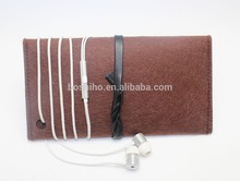 BOSHIHO Hot new product best selling for 2015 quality 3mm thick wool felt cell phone wallet