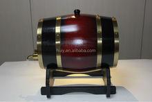 Venda quente de madeira barril de vinho barril de carvalho usado