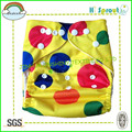 cor amarela pronted pul fralda de pano impermeável fraldas para bebés