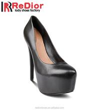 2015 newest fashion designs high heel platform ladies women dress shoes Pumps