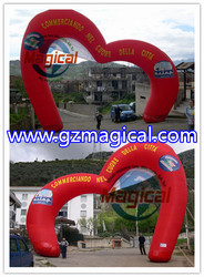 new arrival inflatable arch/ advertising inflatable wecome archway for event/ wedding