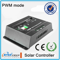 Lighting Controller,solar light kit Application and 12v 24v auto rated voltage 15A solar controller