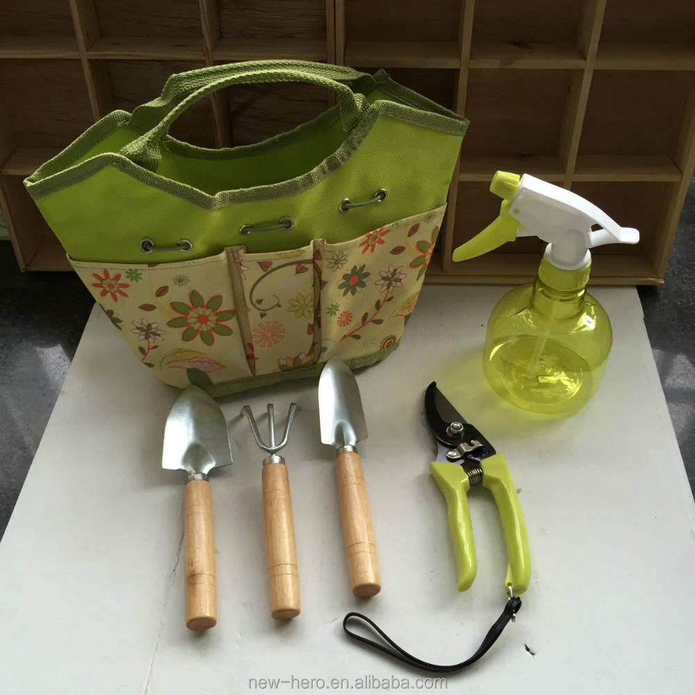 Gardening gifts garden tool bag set mail order packing for Gardening tools jakarta