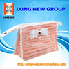 E Customized high quality pvc packaging plastic bags