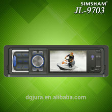 "3"" pantalla LCD de coche estéreo 1DIN DVD CD MP3"