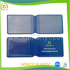 2015 hot factory customized card holder with name card pocket, pvc folding card holder