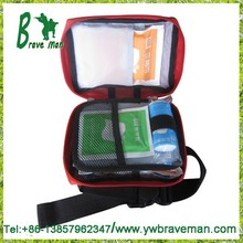 2015 China Stock cheap price wholesale hospital car emergency first aid kit