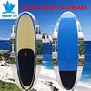 2015 New fiberglass Custom made bamboo veneer surf paddle board surfboard manufacturer