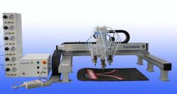 automatic epoxy sticker solder paste liquid glue dispensing machine for photo album
