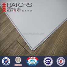 Artistic aluminum square ceiling tile
