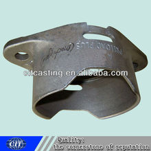 customized steel casting holding for truck fittings