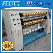 GL-210 converting Machine for clear BOPP Office Tape jumbo roll