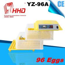 YZ-96A Factory supply incubator chicks/mini egg incubator/china incubator with CE marked