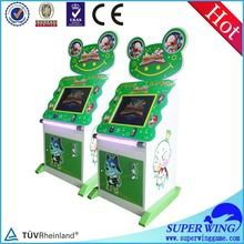 """17"""" touch king arcade game for kids redemption ticket"""