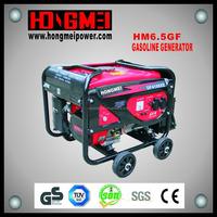 6.5Kw/Kva Factory Price Kick Start Portable Gasoline Generator