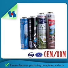 Colorful Empty Aerosol Cans Wholesale Dia 45 52 57 60 65 70 Mm