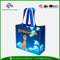 2015 New Fashion China PP Woven Shopping Bag in CMYK Printing