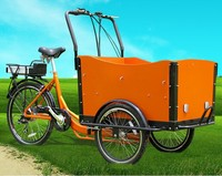 Adult trike three wheeler price/3 wheel motorcycle/Bakfiet cargo bike made in China