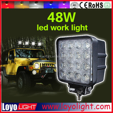 Surprise!!! Cheap Price Offroad LED Work Light for Tractor 48W LED worklight