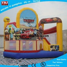 2015 Best inflatable cars castle, new inflatable jumping bouner house, cheap inflatable bouncy castle for sale
