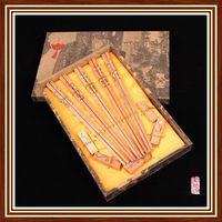 Top grade antique bamboo boxed gift chopsticks