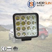 China Manufacturer 48w Square Tractor Trucks Off-road LED Flood Spot Work Light led light