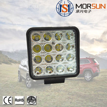 China Manufacturer 48w Square Tractor Trucks Off-road LED Flood Spot Work Light led light