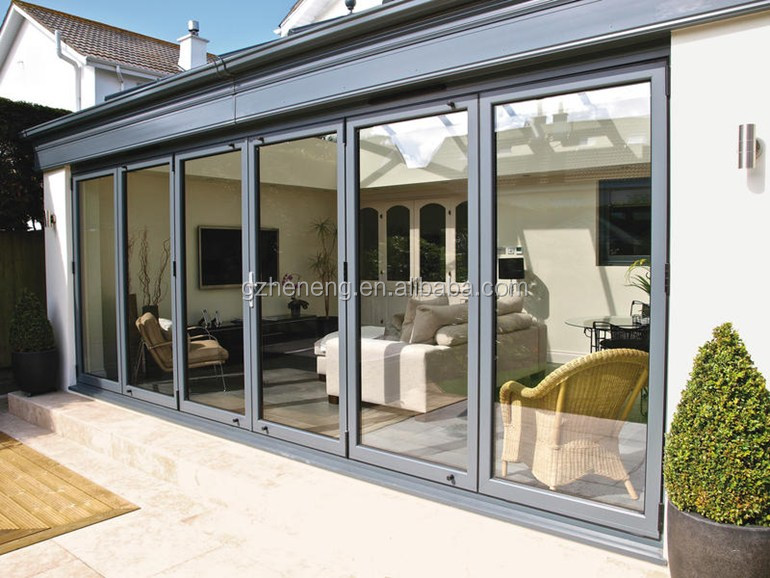 Residential Aluminum Entrance Doors : Casement glass door with aluminum frame for residential in